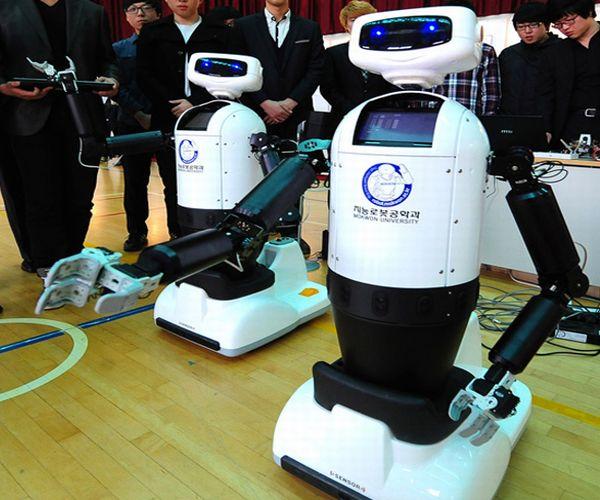 Robots humanoides ayudar discapacitados