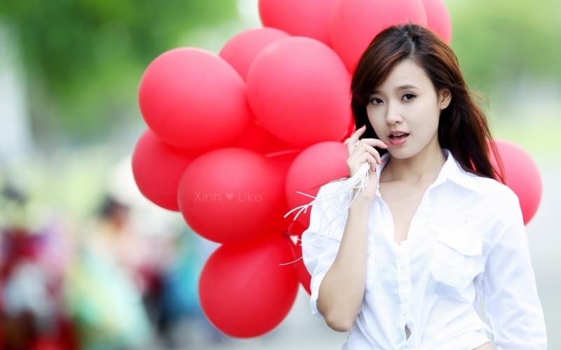 Danh sách top hot girl Việt xinh đẹp nhất hiện nay.