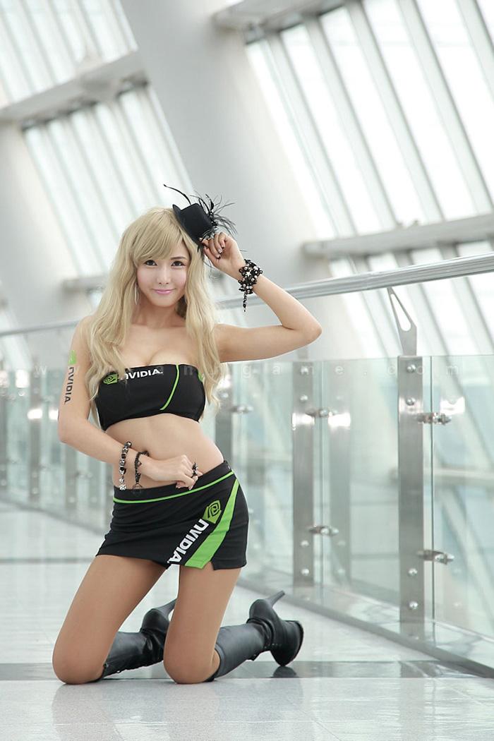 Showgirl G-star 2012: Cha Sun Hwa - Ảnh 57