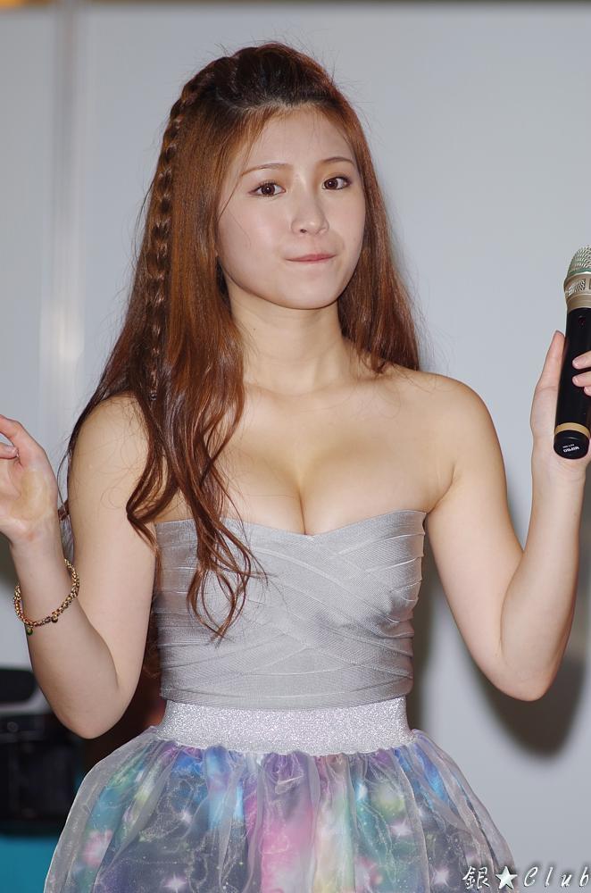 台中春季電腦展 - 熊熊 + 雞排妹