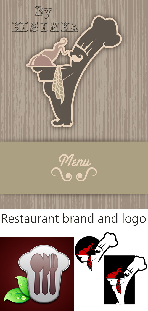 Stock: Restaurant brand and logo
