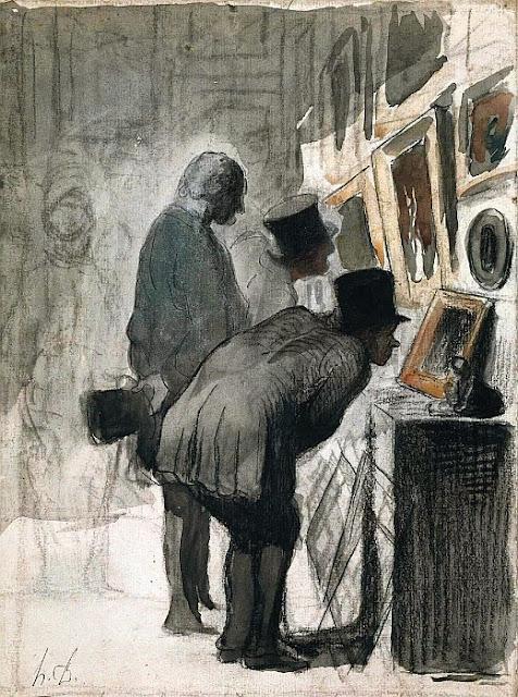 Honoré Daumier - Connoisseurs