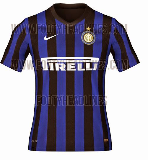 ao bong da - áo bóng đá đội Inter milan 2015 - 2016