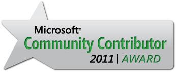 Microsoft Community Contributor 2011