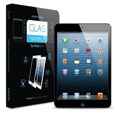 SPIGEN SGP iPad mini シュタインハイル GLAS スクリーンプロテクター ブラック