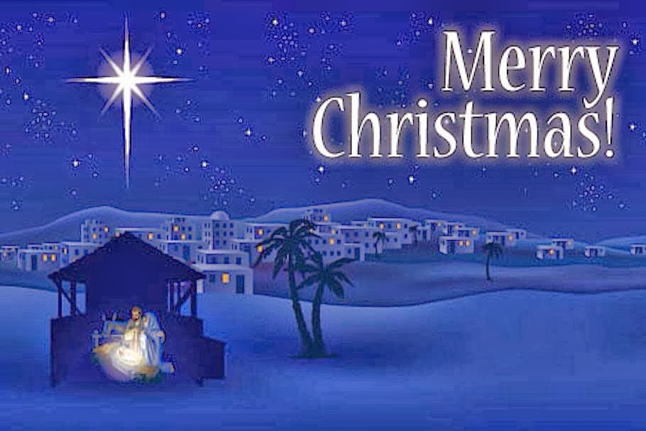 Chips off the old Block: Merry Christmas Blessings
