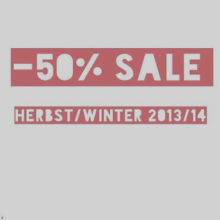 -50% SALE Herbst/Winter 2013/2014