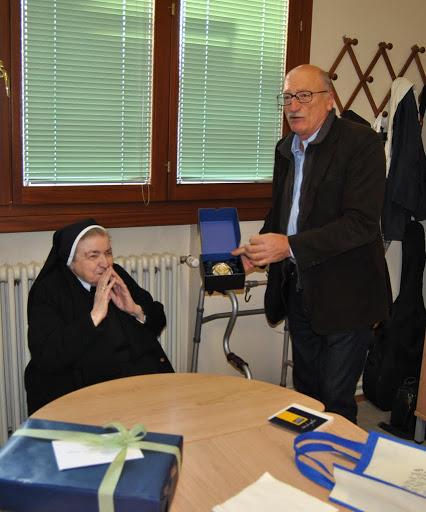 Madre Fedele con l'assessore Furlan