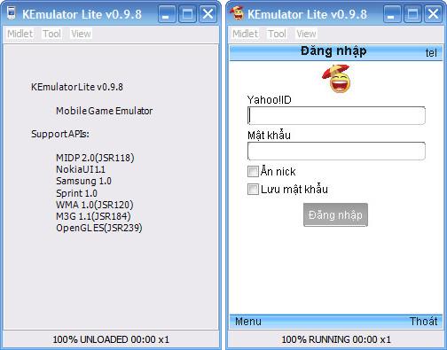KEMulator 0.9.8