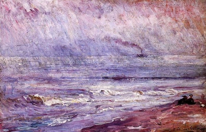 Albert Lebourg - Seascape