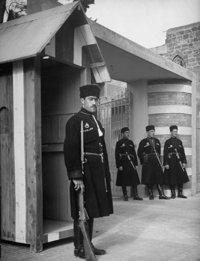 Syrian Circassians serving with the French Legion.