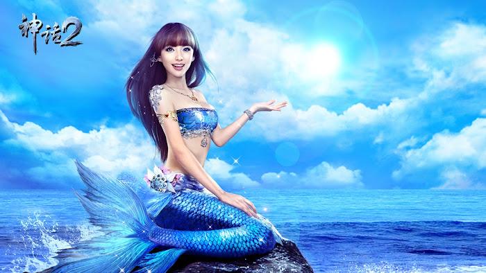 Những nàng tiên cá đáng yêu của Thần Thoại 2