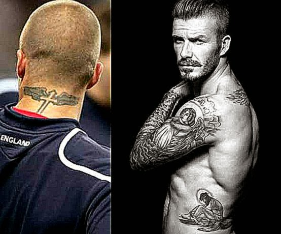 David beckham tatoos tatoo pictures ideas for David beckham tattoo sleeve