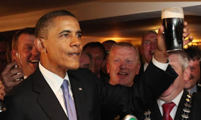 Obama lectures Irish Christians on divisiveness