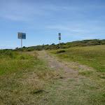 Grassy track near Caves Beach Road in Caves Beach (387551)