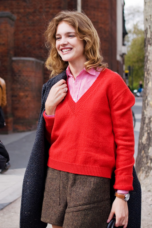 Natalia Vodianova at The Vogue Festival