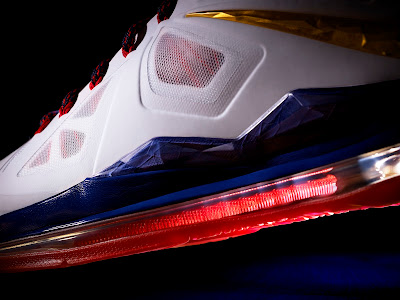 nike lebron 10 gr usa basketball 1 03 LeBron X in 3 Versions! Regular $180, Nike+ Enabled $200 and with Sensors $270