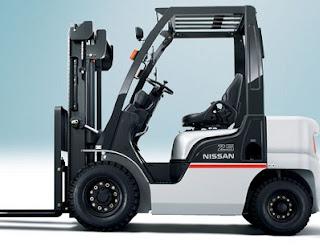 Cho thuê xe nâng Nissan Japan 0937782768