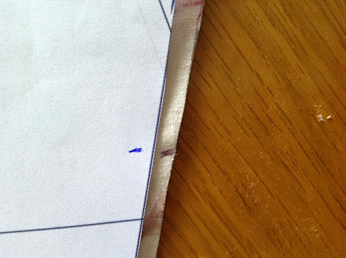 how to make a hinge out of fabric