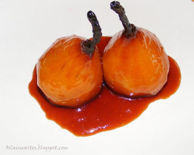 Peras Carameladas