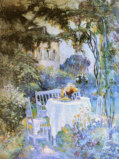 Robert Antoine Pinchon - The Garden