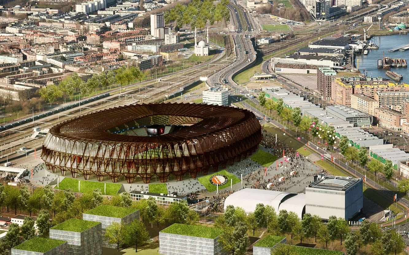News: FEYENOORD SUPERKUIP by MVSA ARCHITECTS
