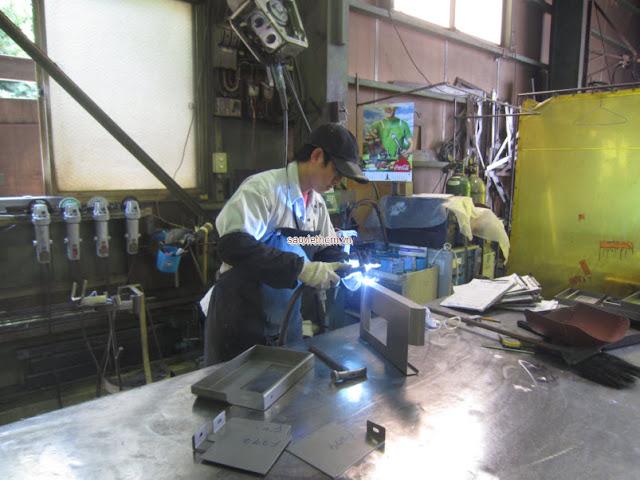 Đơn hàng hàn cần 6 nam thực tập sinh làm việc tại Chiba Nhật Bản tháng 04/2017