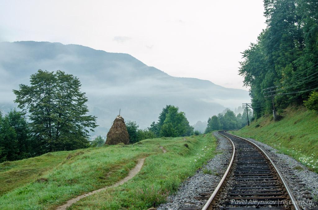 Железная дорога в Квасах