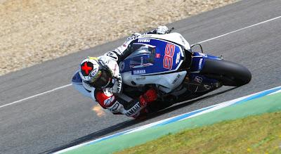 Jorge Lorenzo Yamaha Racing 2012