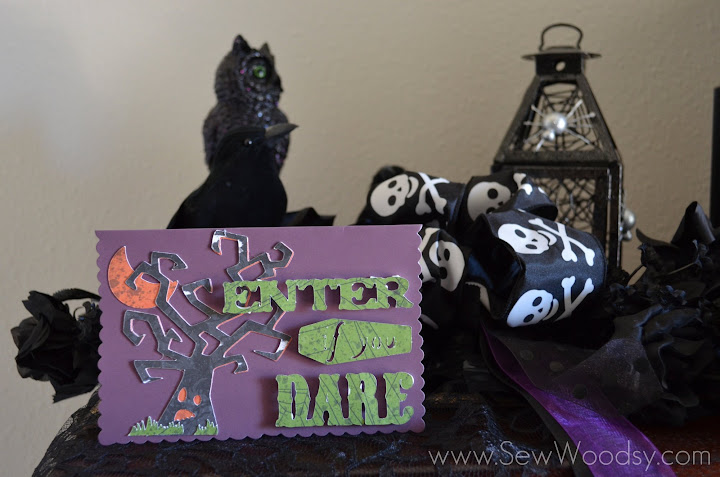 enter if you dare card