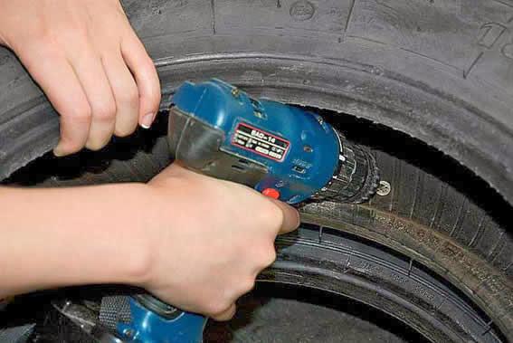 Reciclagem de pneu