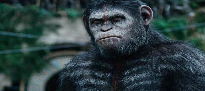 Screen Shot Of Hollywood Movie Dawn of the Planet of the Apes (2014) In Hindi English Full Movie Free Download And Watch Online at Alldownloads4u.Com