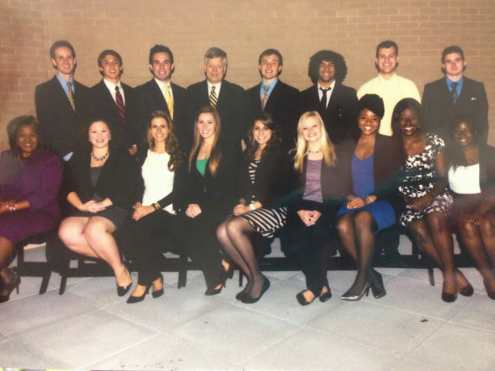 Stephanie Barrick - four internships during her college career!