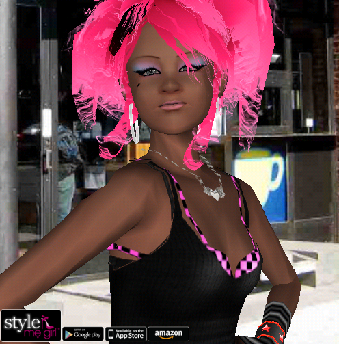 Style Me Girl Level 26 - Jenny - Hipster - Close Up