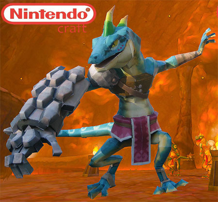 Skyward Sword Lizalfos Papercraft