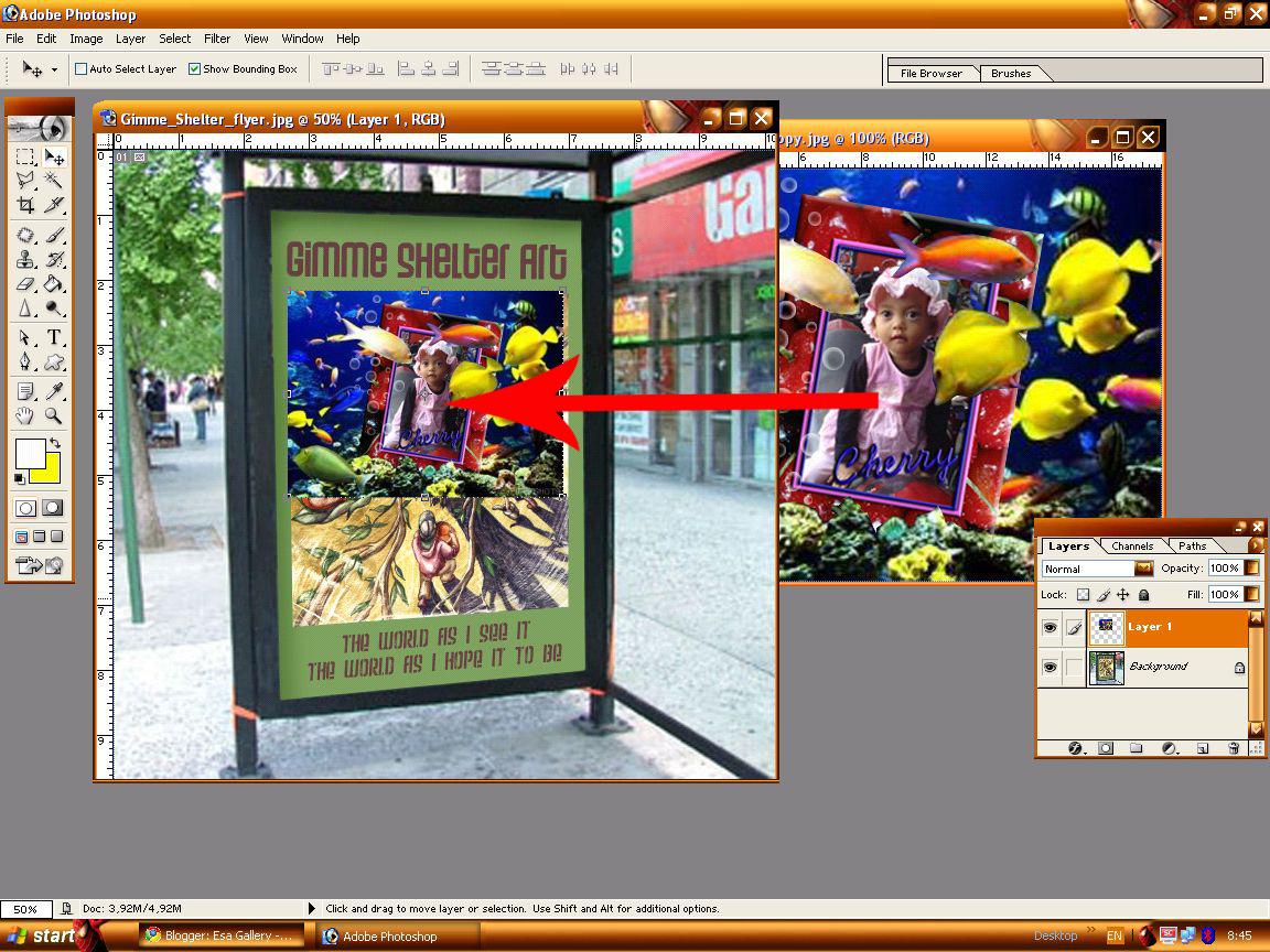 Cara Membuat Foto Trik Memiringkan Ekstra Bebas