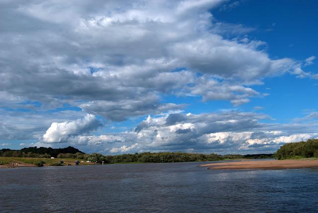 Устье правого притока Вятки - Моломы