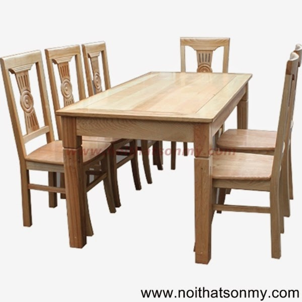 Bộ bàn ghế phòng ăn 03