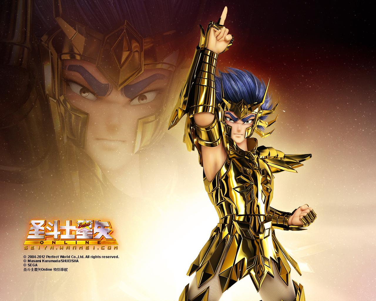 Ngắm hình nền thánh đấu sĩ Saint Seiya Online cực chất - Ảnh 4