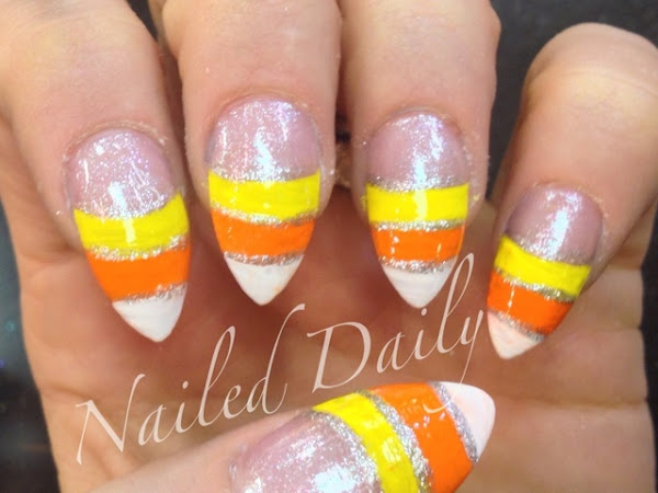 Day 293 - Candy Corn French