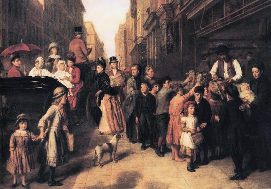 William Powell Frith - Poverty and Wealth