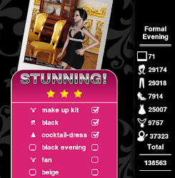 Three Stars Stunning on Formal Evening Level 32 Style Me Girl