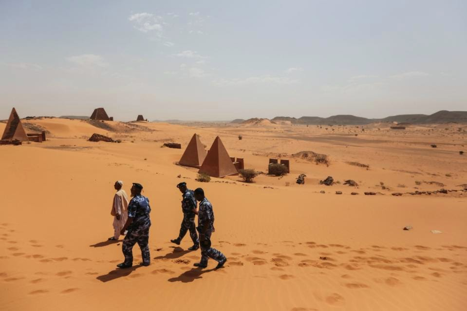 Sudan: Sudan's pyramids, nearly as grand as Egypt's, go unvisited