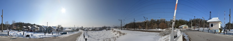 залізничний переїзд ст. Мотовилівка