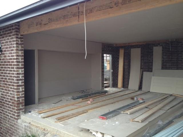 recessed workbench garage