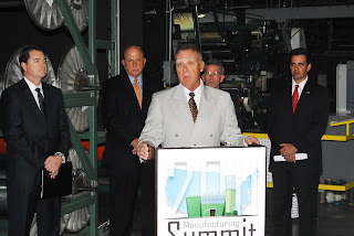 Press Conference announcing 2011 National Manufacturing Summit