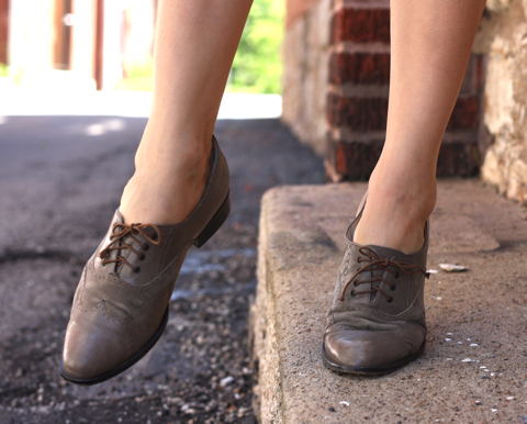 outfit post: brogues