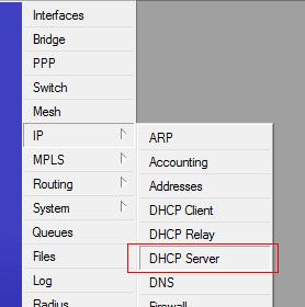 dhcpserver1 Cara Setting Mikrotik Sebagai DHCP Server