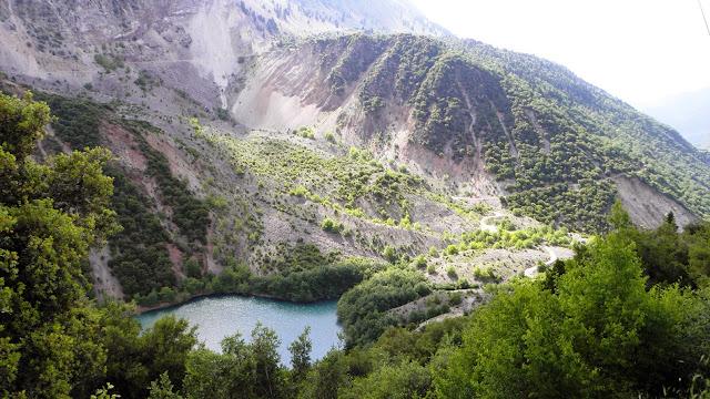 Η λίμνη Στεφανιάδα