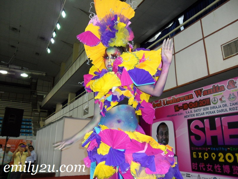 Magic of Colour Make-Up Show by Aery Jo Academy @ S.H.E. Expo 2011